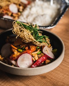Rice Bowl Ready To Eat Family Meal Kit
