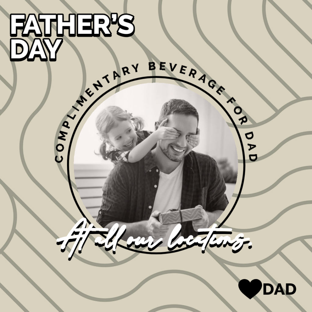 Celebrating Dad this Father's Day